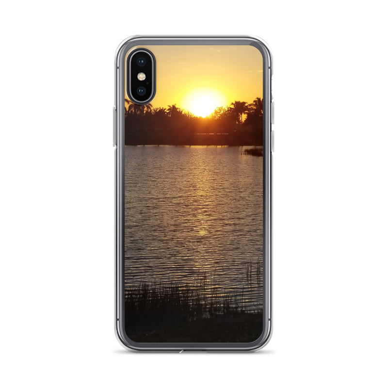 """Sunsational"" iPhone Case-Phone Case-Tropical Scenery-iPhone X/XS-Tropical Scenery"