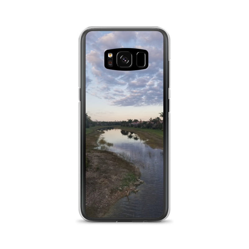 """River Sky"" Samsung Case-Phone Case-Tropical Scenery-Samsung Galaxy S8-Tropical Scenery"