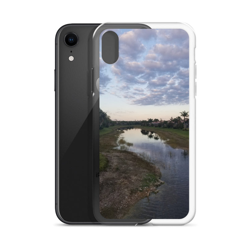 """River Sky"" iPhone Case-Phone Case-Tropical Scenery-Tropical Scenery"