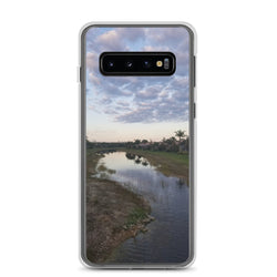 """River Sky"" Samsung Case-Phone Case-Tropical Scenery-Samsung Galaxy S10-Tropical Scenery"