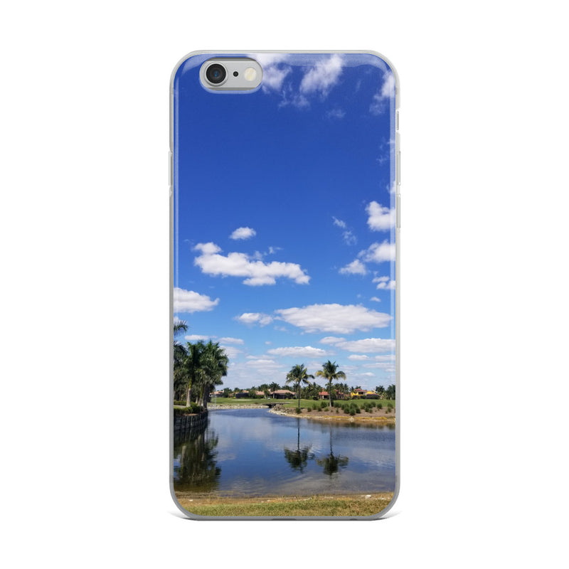 """A Day on the Course"" iPhone Case-Phone Case-Tropical Scenery-iPhone 6 Plus/6s Plus-Tropical Scenery"