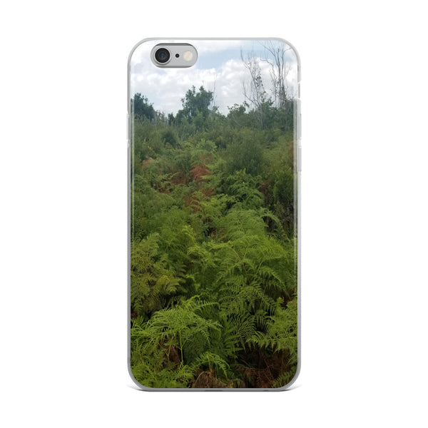 """Green on the Scene"" iPhone Case-Phone Case-Tropical Scenery-iPhone 6 Plus/6s Plus-Tropical Scenery"