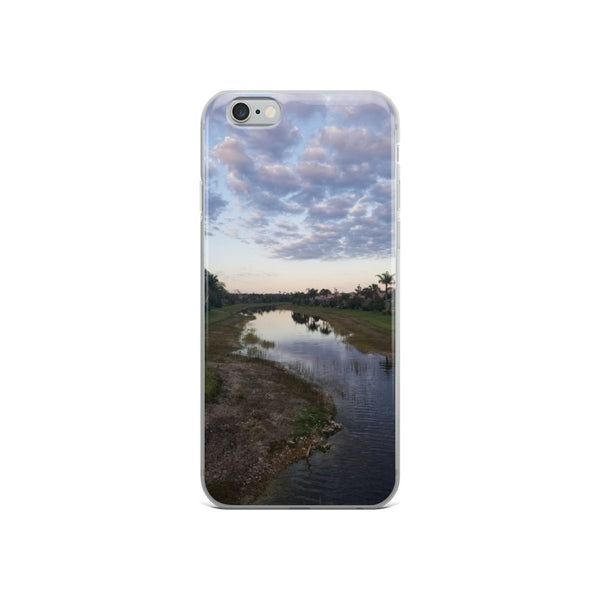"""River Sky"" iPhone Case-Phone Case-Tropical Scenery-iPhone 6/6s-Tropical Scenery"