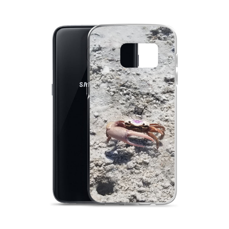 """Monsieur Crab"" Samsung Case-Phone Case-Tropical Scenery-Tropical Scenery"