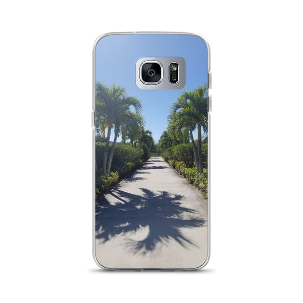 """Path to Paradise"" Samsung Case-Phone Case-Tropical Scenery-Samsung Galaxy S7 Edge-Tropical Scenery"