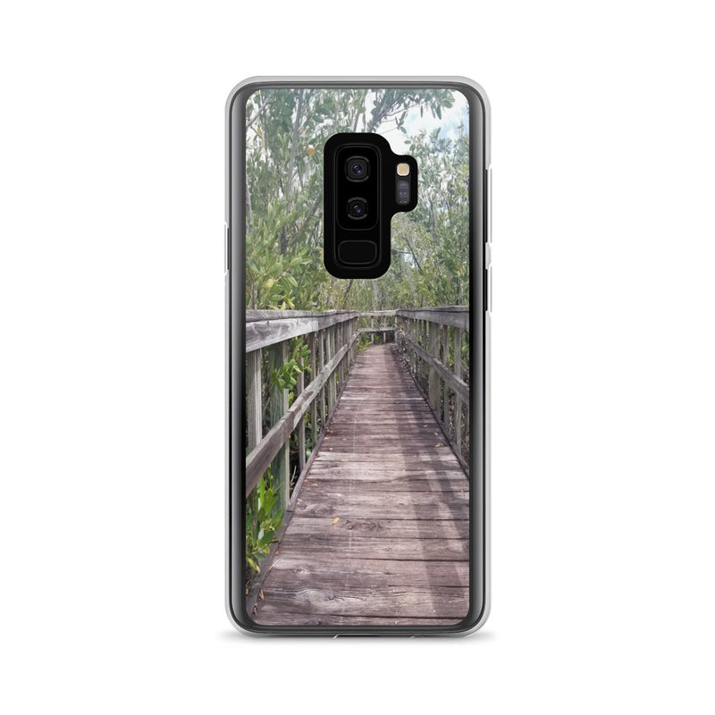 """Out Back"" Samsung Case-Phone Case-Tropical Scenery-Samsung Galaxy S9+-Tropical Scenery"