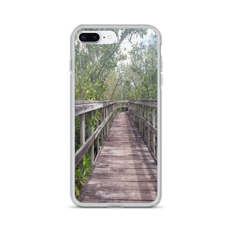 """Out Back"" iPhone Case-Phone Case-Tropical Scenery-iPhone 7 Plus/8 Plus-Tropical Scenery"