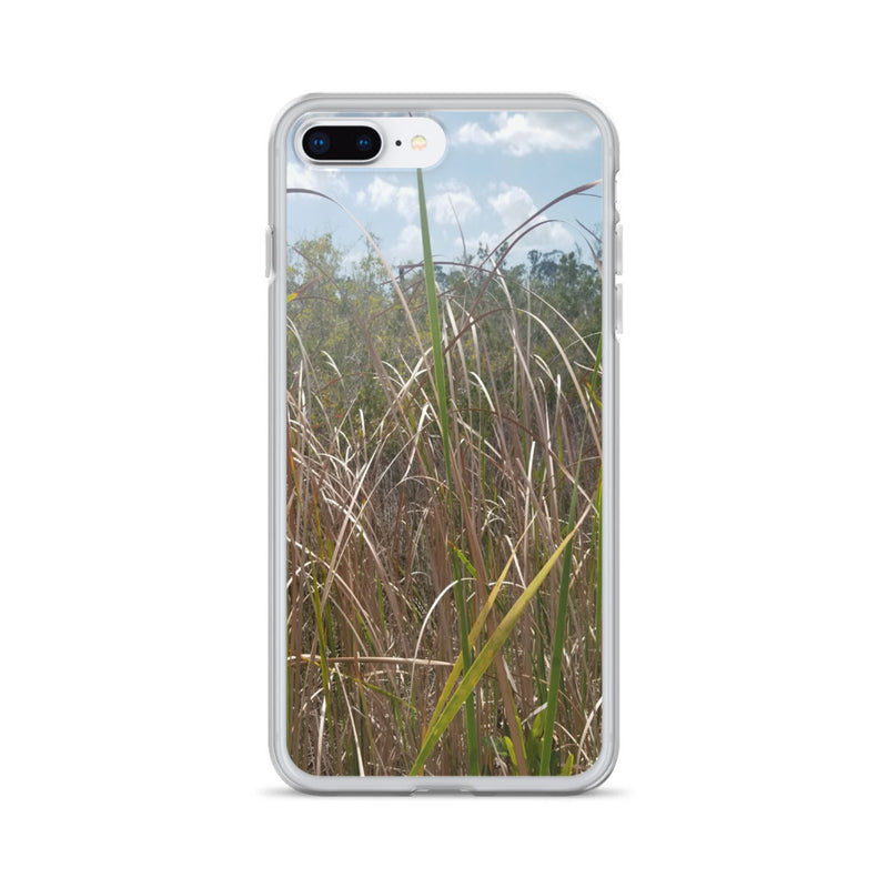 """Grass"" iPhone Case-Phone Case-Tropical Scenery-iPhone 7 Plus/8 Plus-Tropical Scenery"