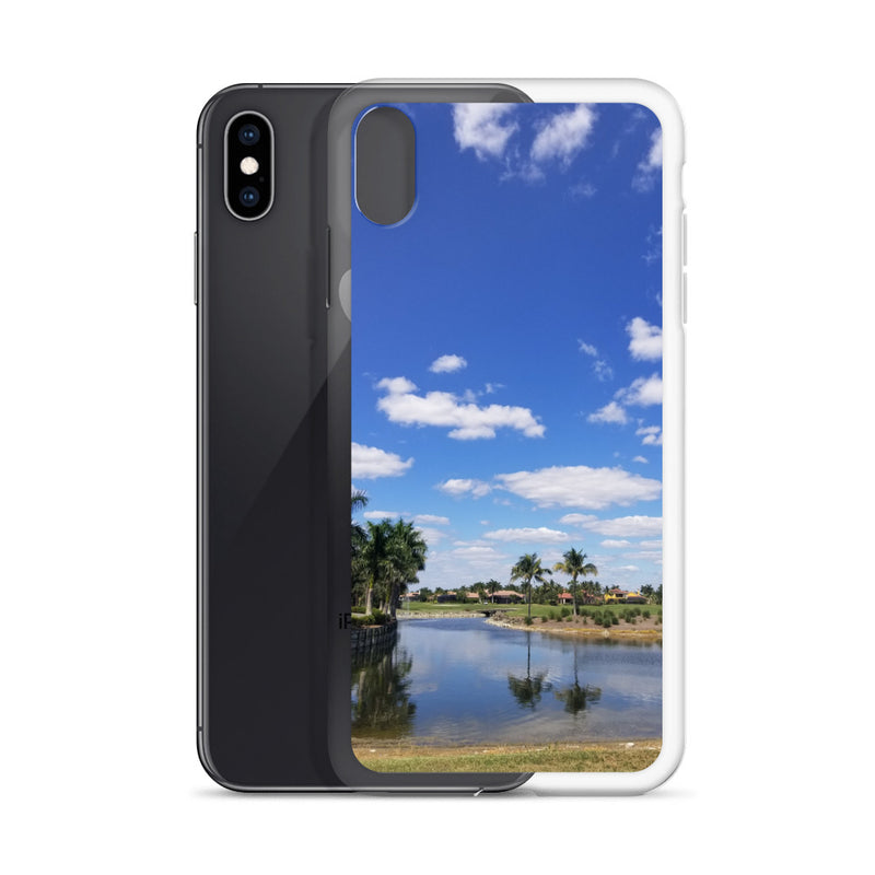 """A Day on the Course"" iPhone Case-Phone Case-Tropical Scenery-Tropical Scenery"