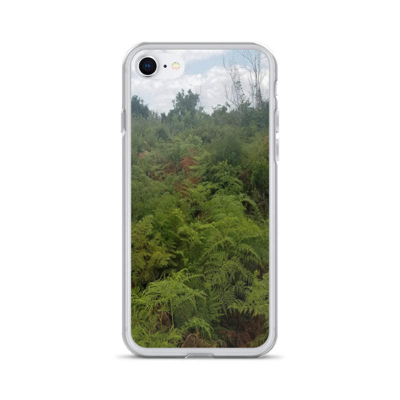 """Green on the Scene"" iPhone Case-Phone Case-Tropical Scenery-iPhone 7/8-Tropical Scenery"