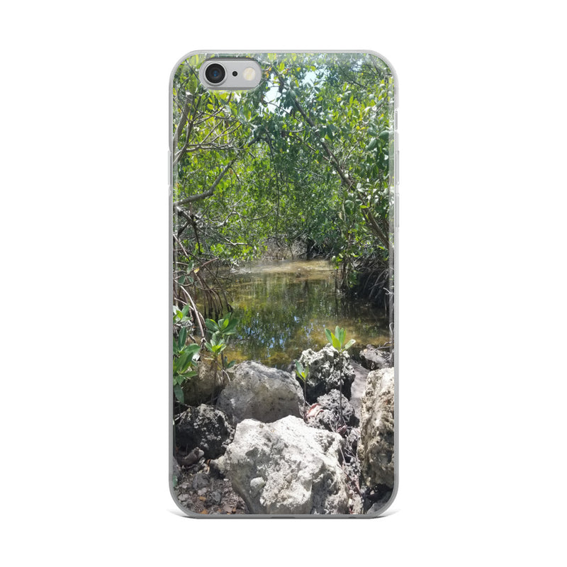 """Creeks"" iPhone Case-Phone Case-Tropical Scenery-iPhone 6 Plus/6s Plus-Tropical Scenery"