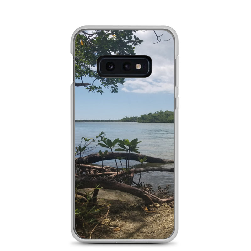 """Scenic View"" Samsung Case-Phone Case-Tropical Scenery-Samsung Galaxy S10e-Tropical Scenery"