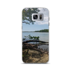 """Scenic View"" Samsung Case-Phone Case-Tropical Scenery-Samsung Galaxy S7 Edge-Tropical Scenery"
