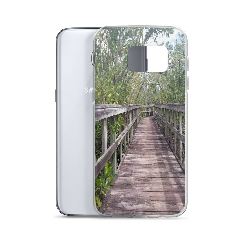 """Out Back"" Samsung Case-Phone Case-Tropical Scenery-Tropical Scenery"