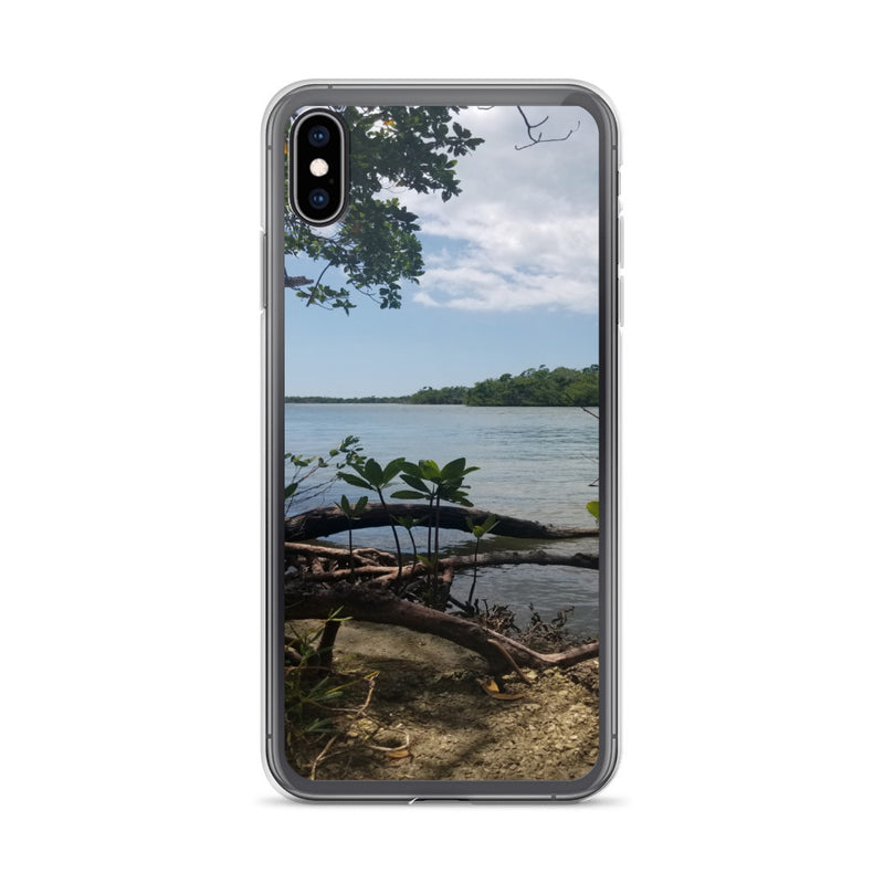 """Scenic View"" iPhone Case-Phone Case-Tropical Scenery-iPhone XS Max-Tropical Scenery"