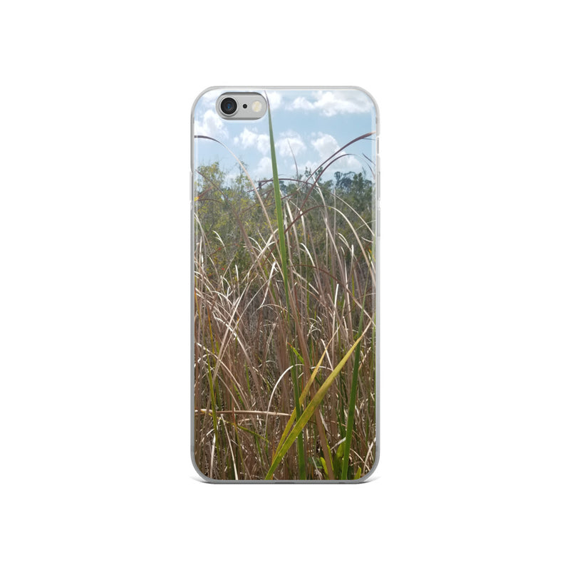 """Grass"" iPhone Case-Phone Case-Tropical Scenery-iPhone 6/6s-Tropical Scenery"