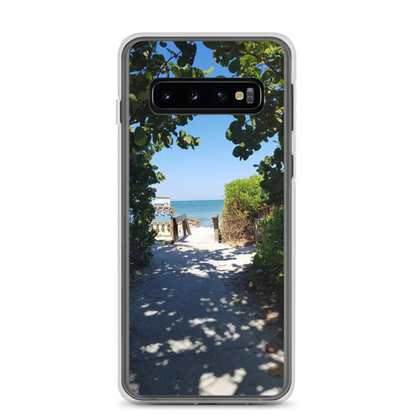 Beach Pass Samsung Case-Tropical Scenery-Samsung Galaxy S10-Tropical Scenery