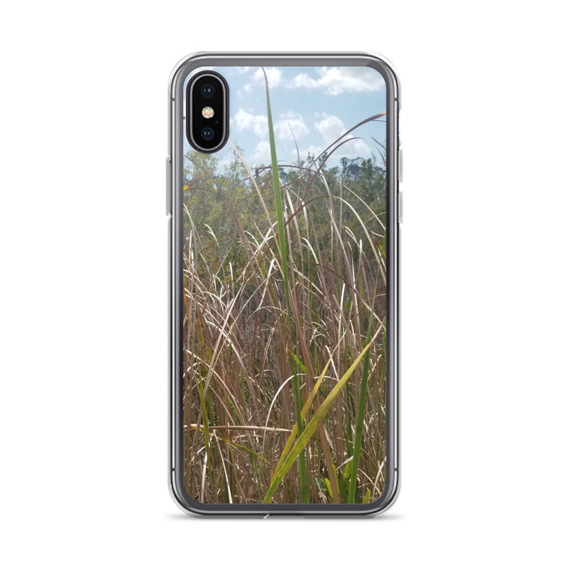 """Grass"" iPhone Case-Phone Case-Tropical Scenery-iPhone X/XS-Tropical Scenery"