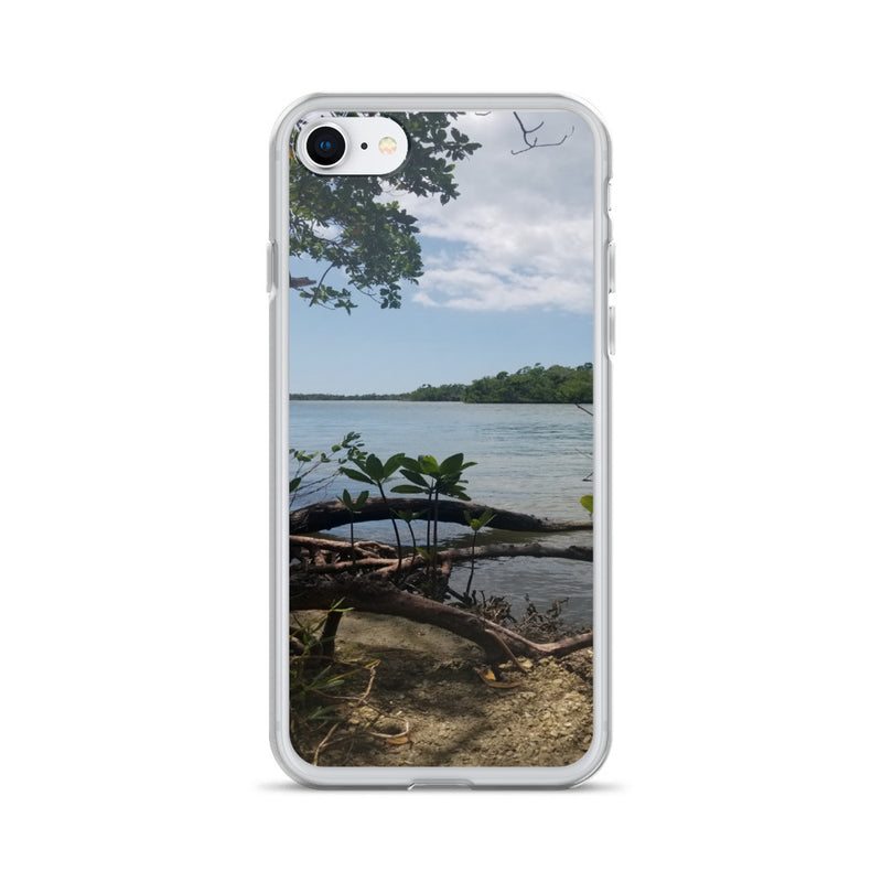 """Scenic View"" iPhone Case-Phone Case-Tropical Scenery-iPhone 7/8-Tropical Scenery"