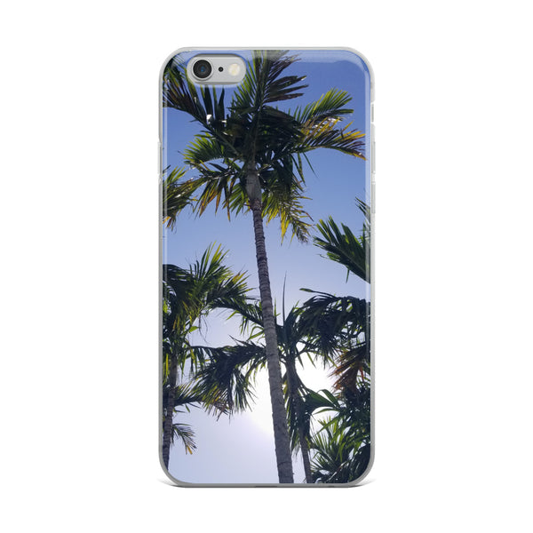 """High Palms"" iPhone Case-Phone Case-Tropical Scenery-iPhone 6 Plus/6s Plus-Tropical Scenery"