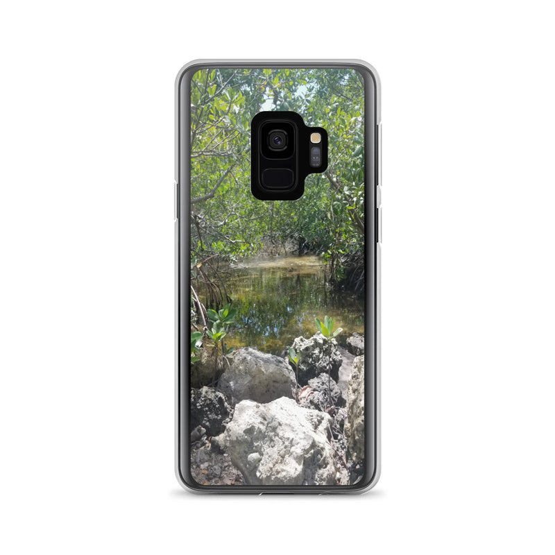 """Creeks"" Samsung Phone Case-Phone Case-Tropical Scenery-Samsung Galaxy S9-Tropical Scenery"