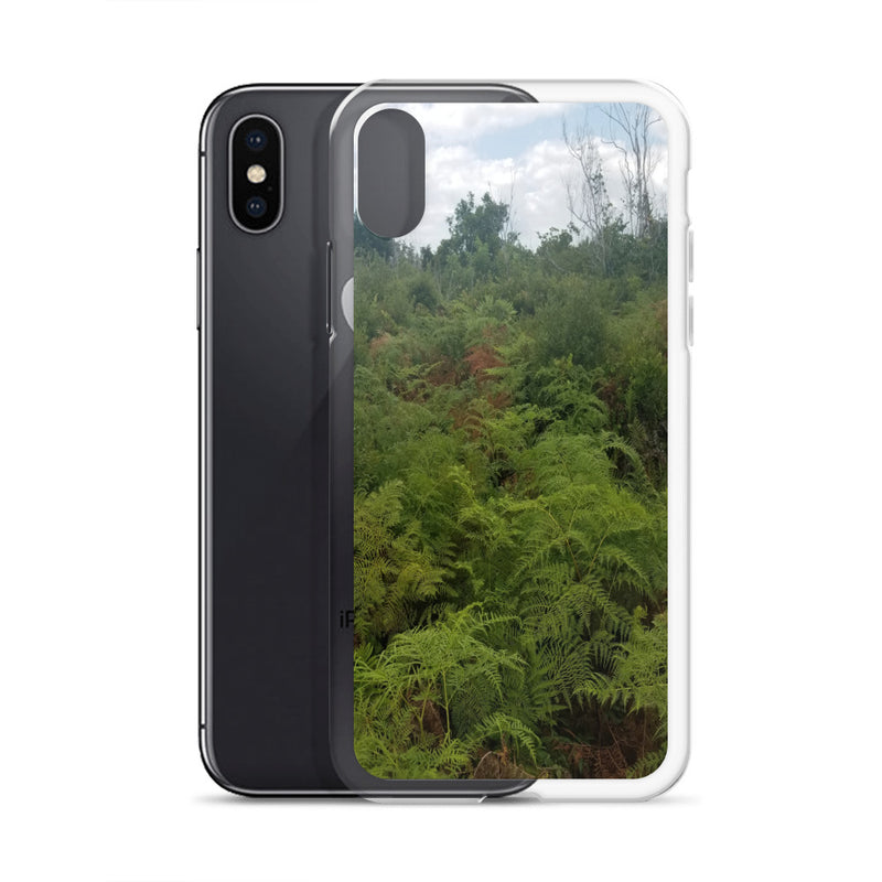 """Green on the Scene"" iPhone Case-Phone Case-Tropical Scenery-Tropical Scenery"