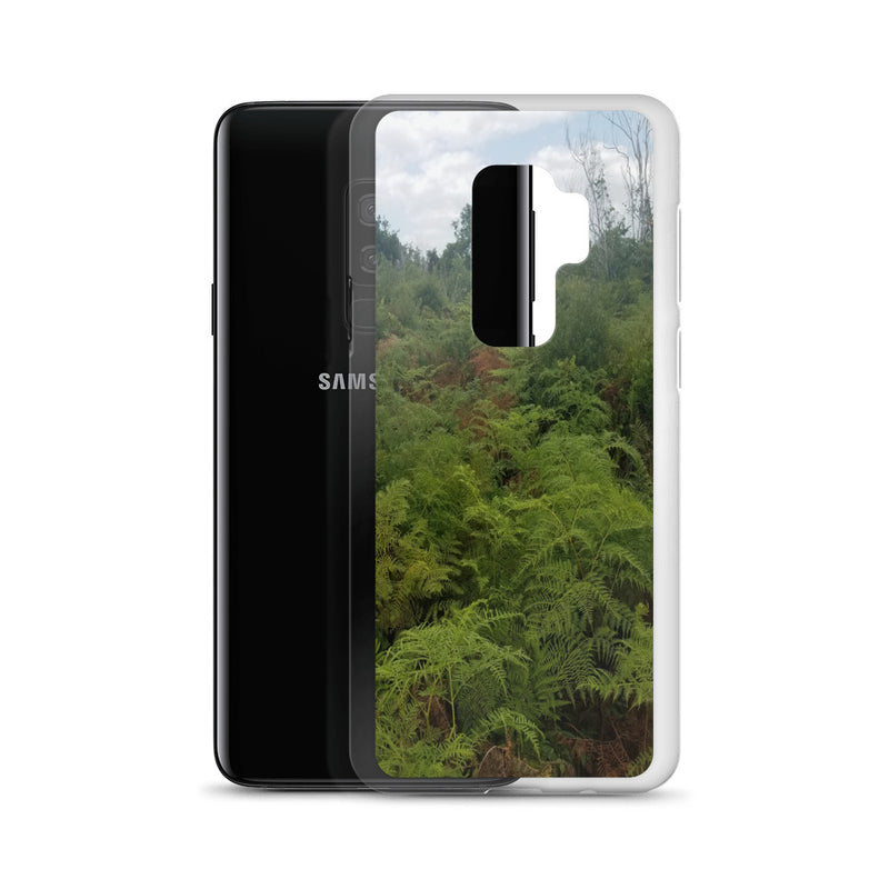 """Green on the Scene"" Samsung Phone Case-Phone Case-Tropical Scenery-Tropical Scenery"