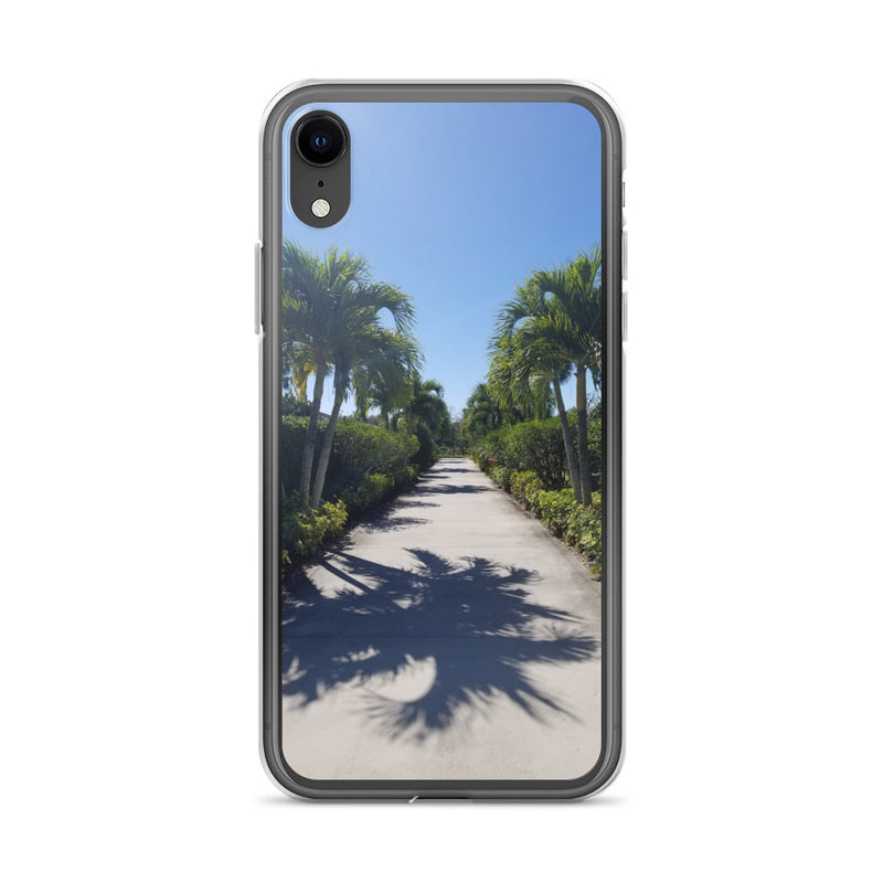"""Path to Paradise"" iPhone Case-Phone Case-Tropical Scenery-iPhone XR-Tropical Scenery"