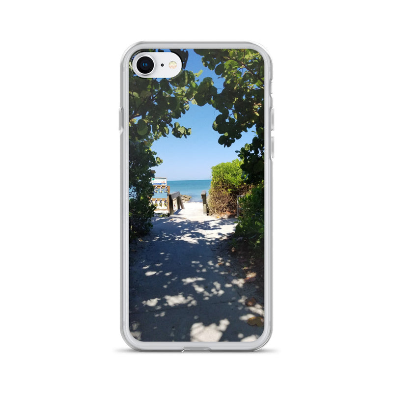 Beach Pass iPhone Case-Tropical Scenery-iPhone 7/8-Tropical Scenery