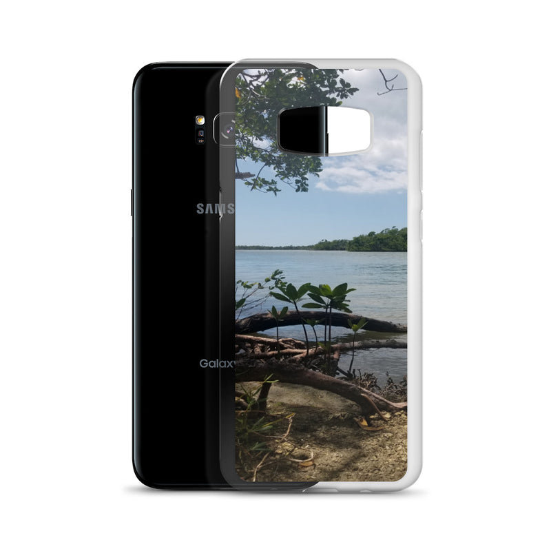 """Scenic View"" Samsung Case-Phone Case-Tropical Scenery-Tropical Scenery"