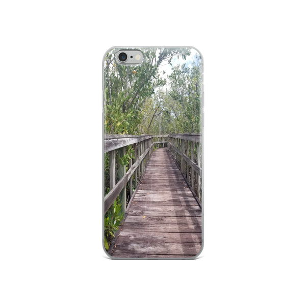 """Out Back"" iPhone Case-Phone Case-Tropical Scenery-iPhone 6/6s-Tropical Scenery"