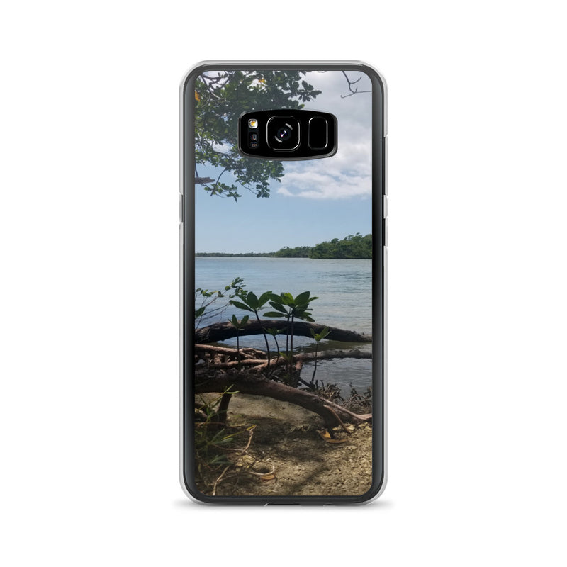 """Scenic View"" Samsung Case-Phone Case-Tropical Scenery-Samsung Galaxy S8+-Tropical Scenery"