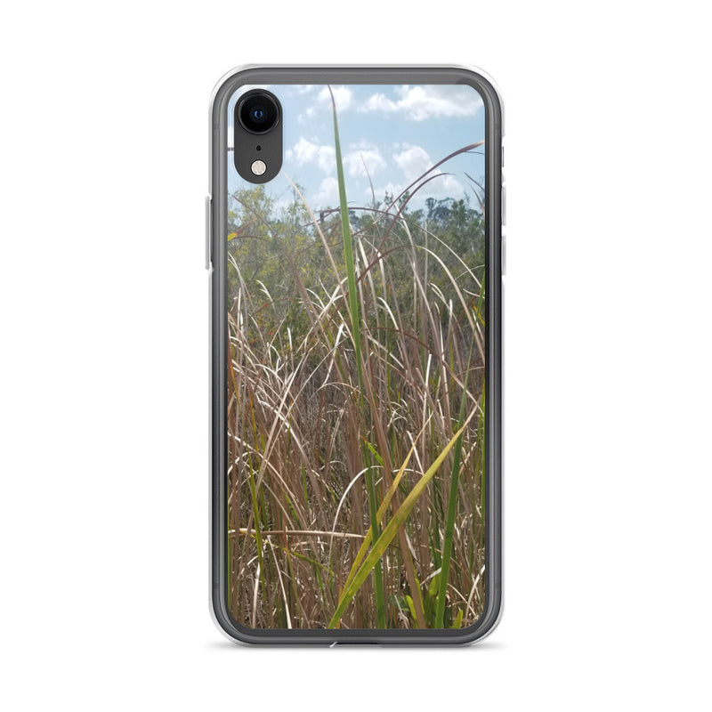 """Grass"" iPhone Case-Phone Case-Tropical Scenery-iPhone XR-Tropical Scenery"