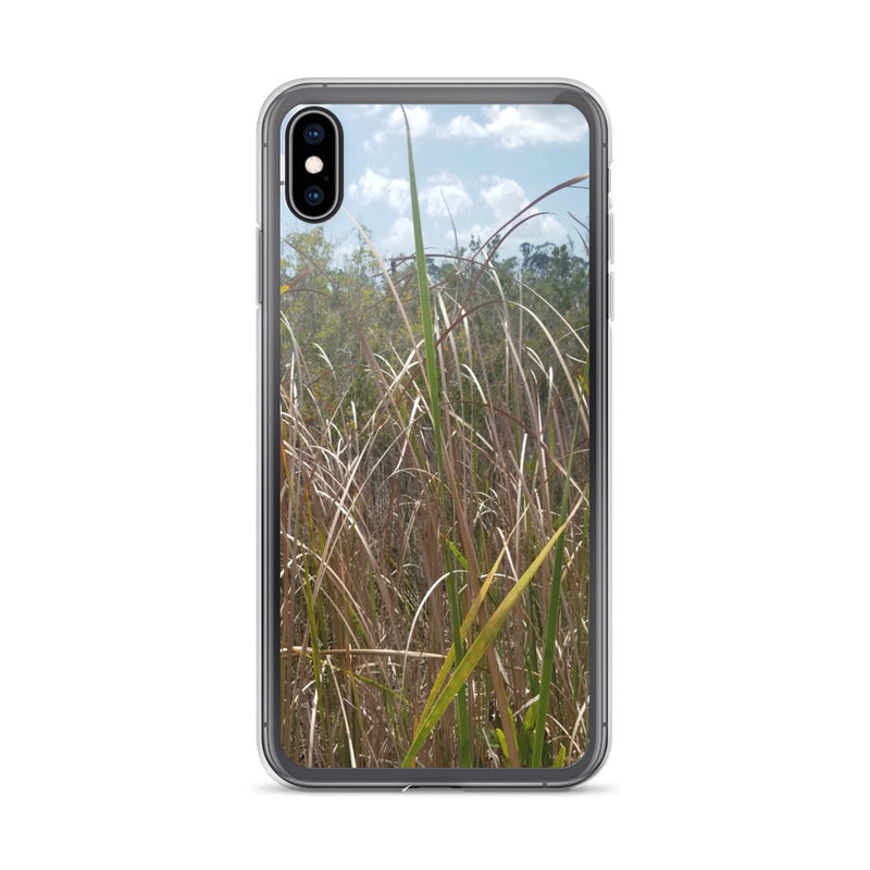 """Grass"" iPhone Case-Phone Case-Tropical Scenery-iPhone XS Max-Tropical Scenery"