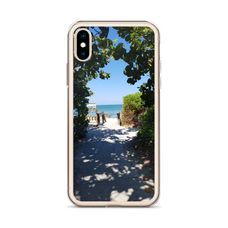 Beach Pass iPhone Case-Tropical Scenery-Tropical Scenery