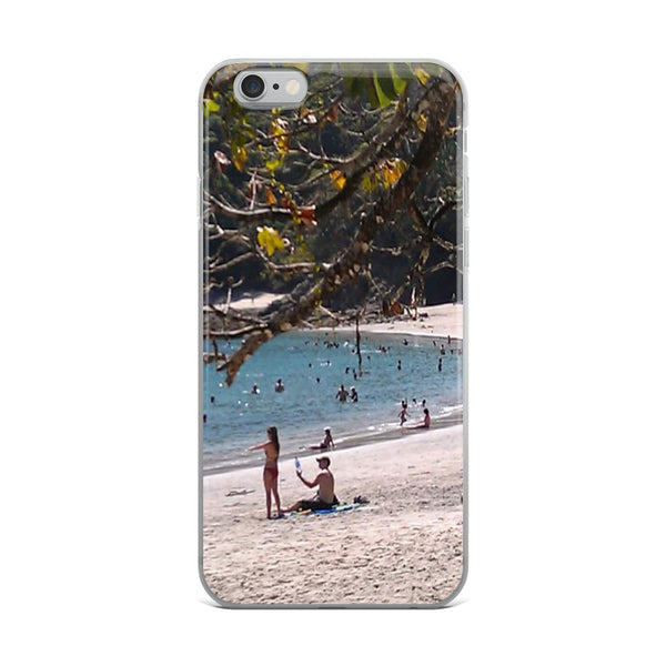"""La Playa"" iPhone Case-Phone Case-Tropical Scenery-iPhone 6 Plus/6s Plus-Tropical Scenery"