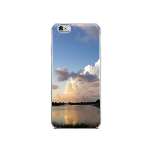 """Golden Haze"" iPhone Case-Phone Case-Tropical Scenery-iPhone 6/6s-Tropical Scenery"