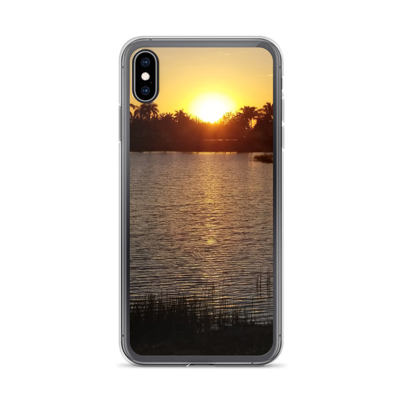 """Sunsational"" iPhone Case-Phone Case-Tropical Scenery-iPhone XS Max-Tropical Scenery"