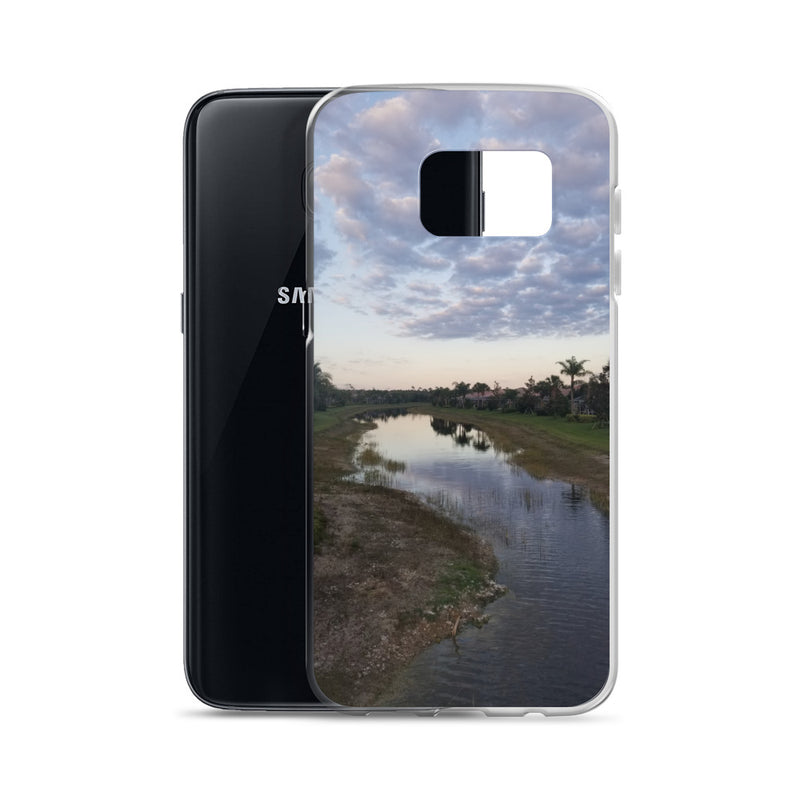 """River Sky"" Samsung Case-Phone Case-Tropical Scenery-Tropical Scenery"