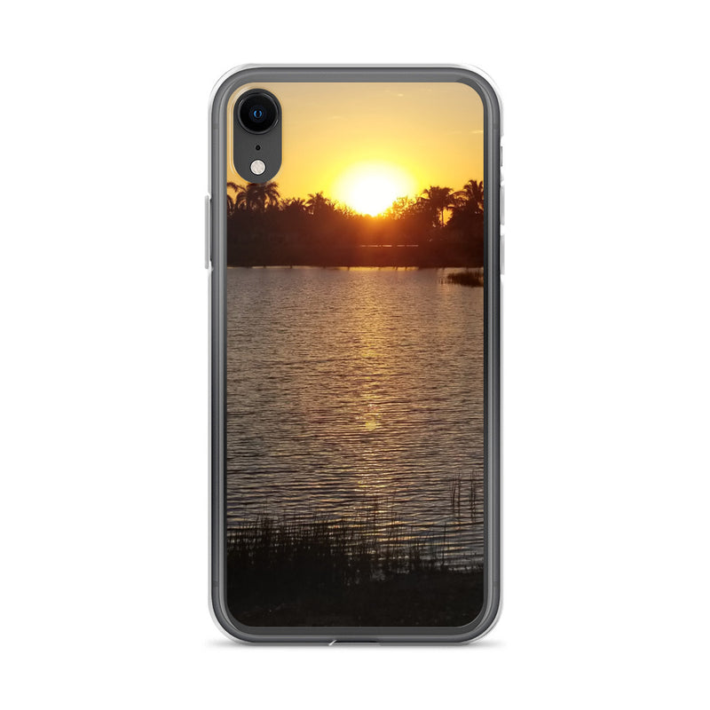 """Sunsational"" iPhone Case-Phone Case-Tropical Scenery-iPhone XR-Tropical Scenery"