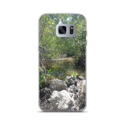 """Creeks"" Samsung Phone Case-Phone Case-Tropical Scenery-Samsung Galaxy S7 Edge-Tropical Scenery"