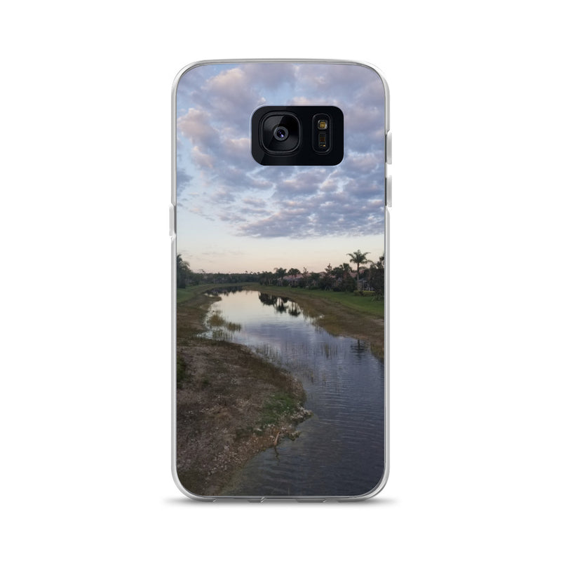 """River Sky"" Samsung Case-Phone Case-Tropical Scenery-Samsung Galaxy S7-Tropical Scenery"