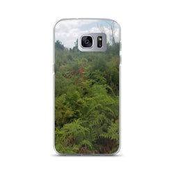 """Green on the Scene"" Samsung Phone Case-Phone Case-Tropical Scenery-Samsung Galaxy S7 Edge-Tropical Scenery"