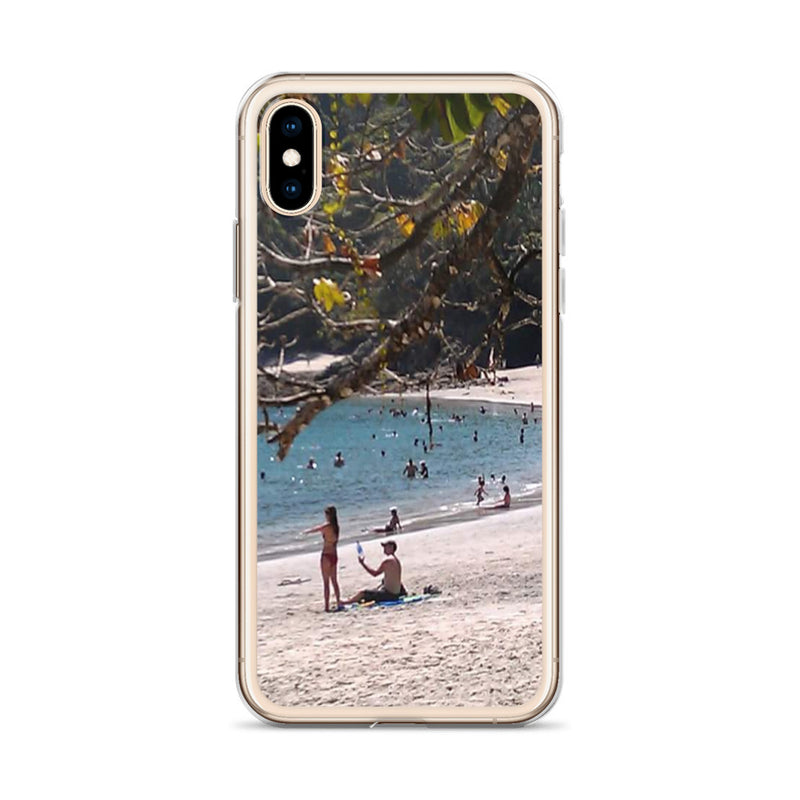"""La Playa"" iPhone Case-Phone Case-Tropical Scenery-Tropical Scenery"