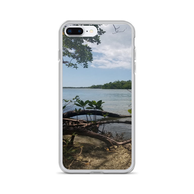 """Scenic View"" iPhone Case-Phone Case-Tropical Scenery-iPhone 7 Plus/8 Plus-Tropical Scenery"