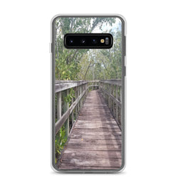"""Out Back"" Samsung Case-Phone Case-Tropical Scenery-Samsung Galaxy S10-Tropical Scenery"