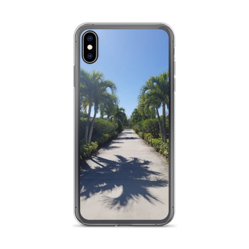 """Path to Paradise"" iPhone Case-Phone Case-Tropical Scenery-iPhone XS Max-Tropical Scenery"