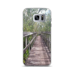 """Out Back"" Samsung Case-Phone Case-Tropical Scenery-Samsung Galaxy S7 Edge-Tropical Scenery"