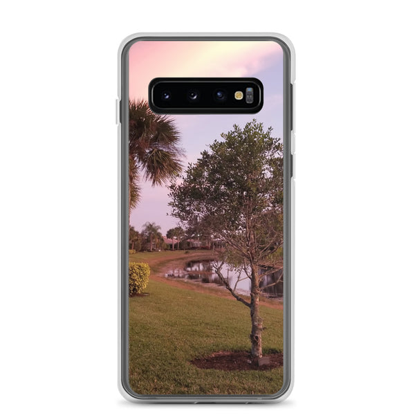 """River's Edge"" Samsung Case-Phone Case-Tropical Scenery-Samsung Galaxy S10-Tropical Scenery"