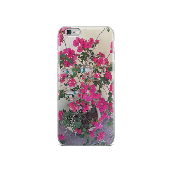 """Pretty in Pink"" iPhone Case-Phone Case-Tropical Scenery-iPhone 6/6s-Tropical Scenery"
